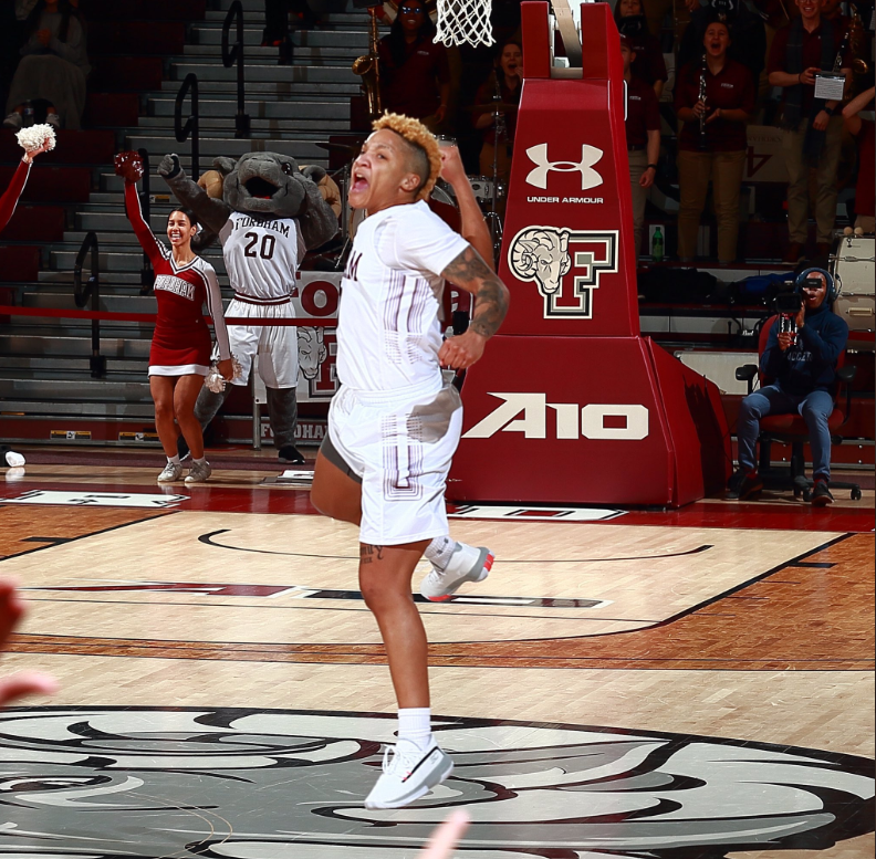 Bre+Cavanaugh+became+Fordhams+first+conference+player+of+the+year+on+Thursday.+%28Courtesy+of+Fordham+Athletics%29