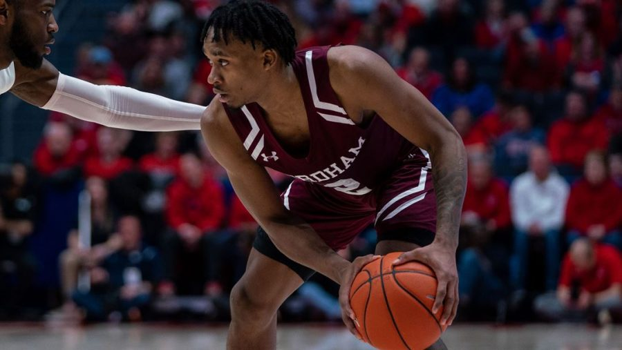 A strong half and defensive effort were not enough for Fordham to overcome one of the nation's best. (Courtesy of Fordham Athletics)