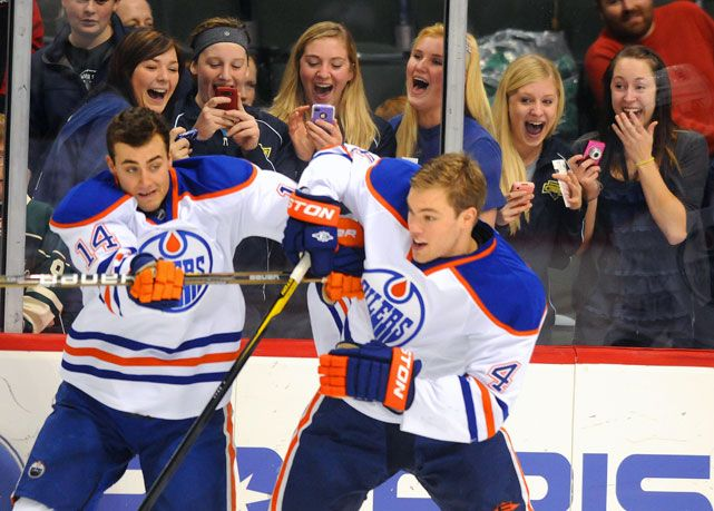 The Oilers have always had a rivalry with the Calgary Flames, but lately, things have only been getting better. (Courtesy of Flickr)