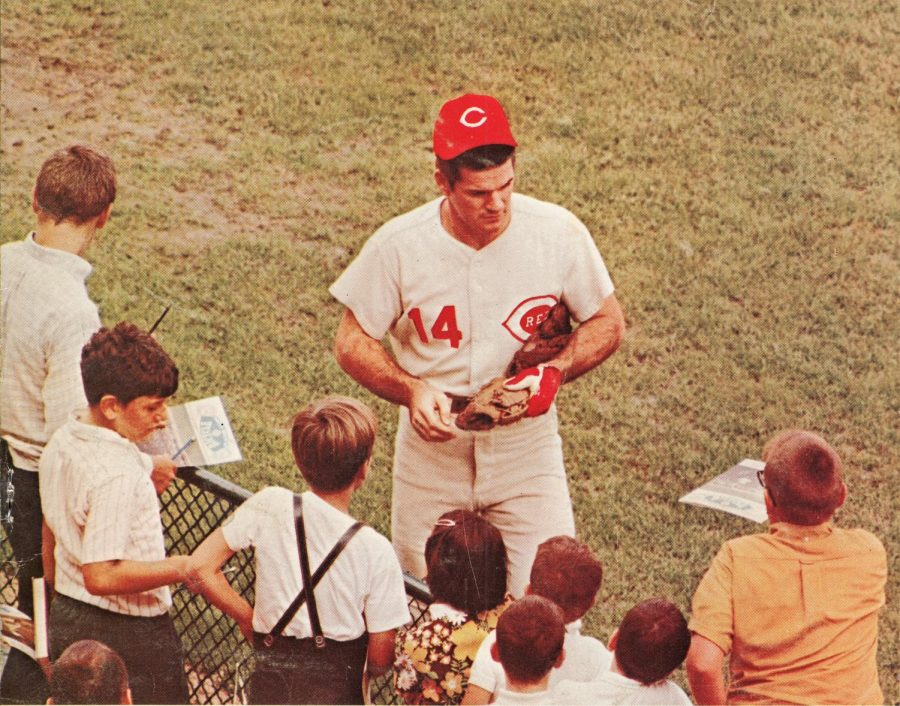Pete Rose has served a ban of over 30 years for gambling on baseball. (Courtesy of Flickr)