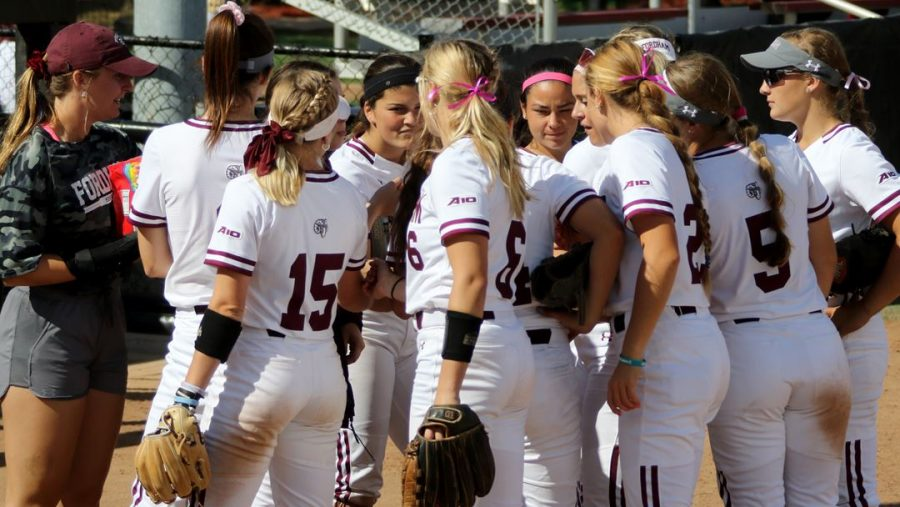 This weekend was an unexpected flop for Fordham Softball at Fresno State. (Courtesy of Fordham Athletics)