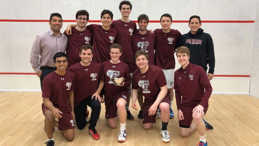 As they have all season, Fordham showed its resilience to win the Chaffee Cup for the second year in a row. (Courtesy of Fordham Athletics)