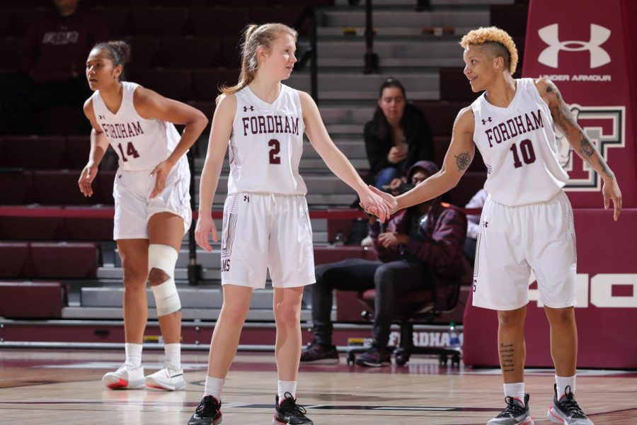 Led by Cavanaugh, the Rams charge into the A-10 Quarterfinals in Dayton against Duquesne. (Courtesy of Fordham Athletics)