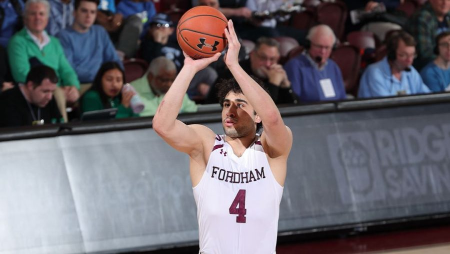 With a loss this past weekend, Men's Basketball fell to the bottom of the conference. (Courtesy of Fordham Athletics)