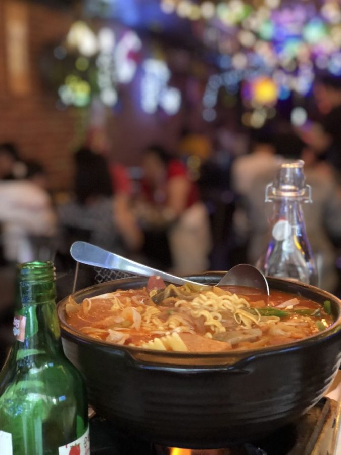 Itaewon is a small resturant but serves big flavors. (Courtesy of Facebook)