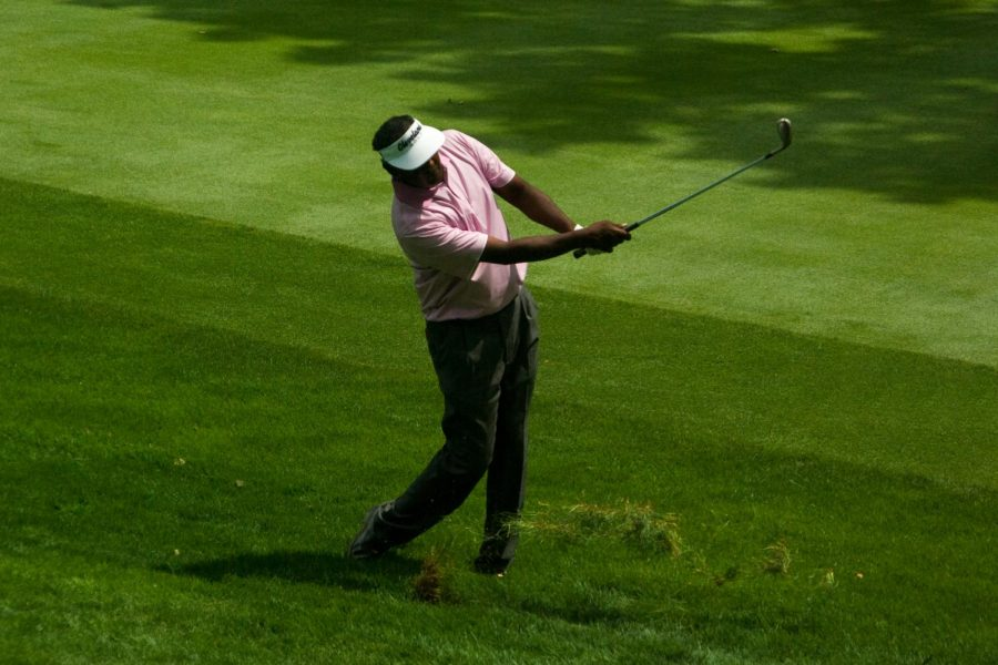 Vijay Singh (above) was one of several golfers in contention at the 2004 PGA Championship. (Courtesy of Flickr)