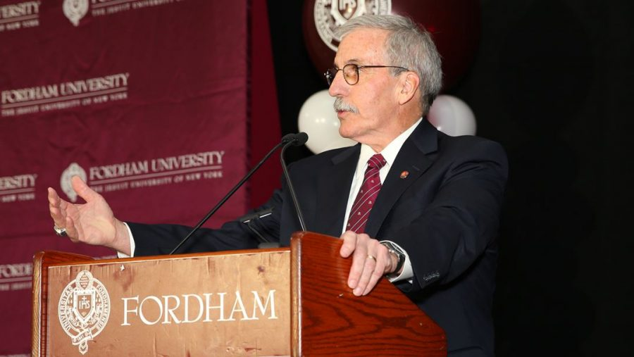 David Roach (above) will retire at the end of June. (Courtesy of Fordham Athletics)