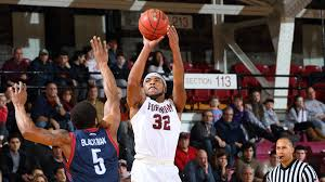 Javontae Hawkins (above) and Erten Gazi have signed professional contracts overseas. (Courtesy of Fordham Athletics)