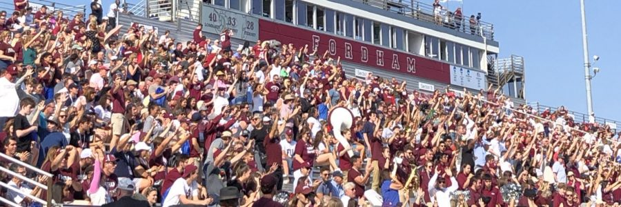Run by Fordham students, The Herd aims to put school spirit back in the culture of Fordham Rams athletics. (Courtesy of Twitter)