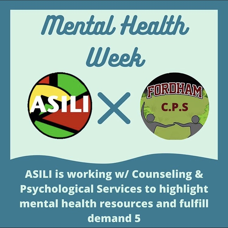 ASILI and CPS will be higlighting mental health services accessible to marginalized students.(Courtesy of ASILI)