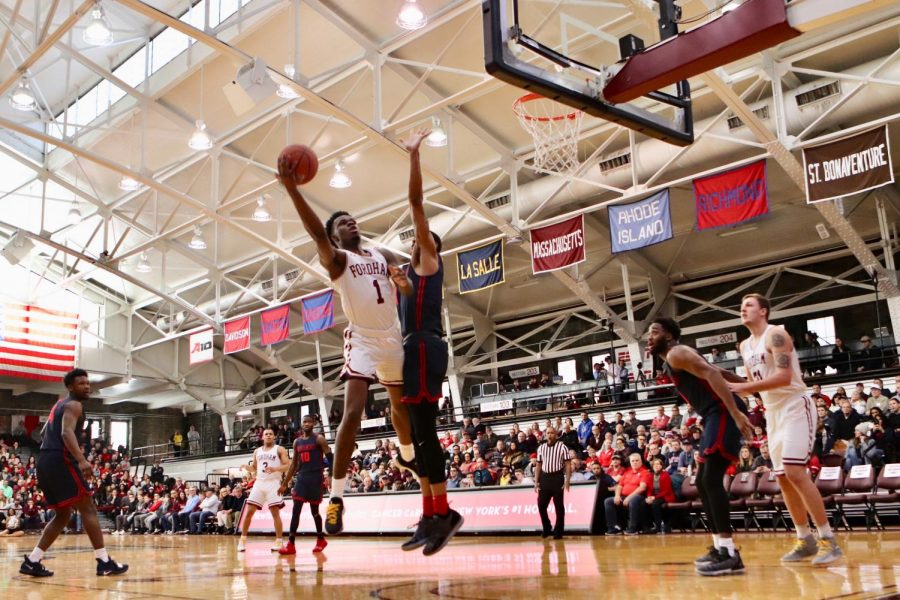 Fordham Men's Basketball will try to kick off its season with a win over Iona on Nov. 25. (Mackenzie Cranna/The Fordham Ram)