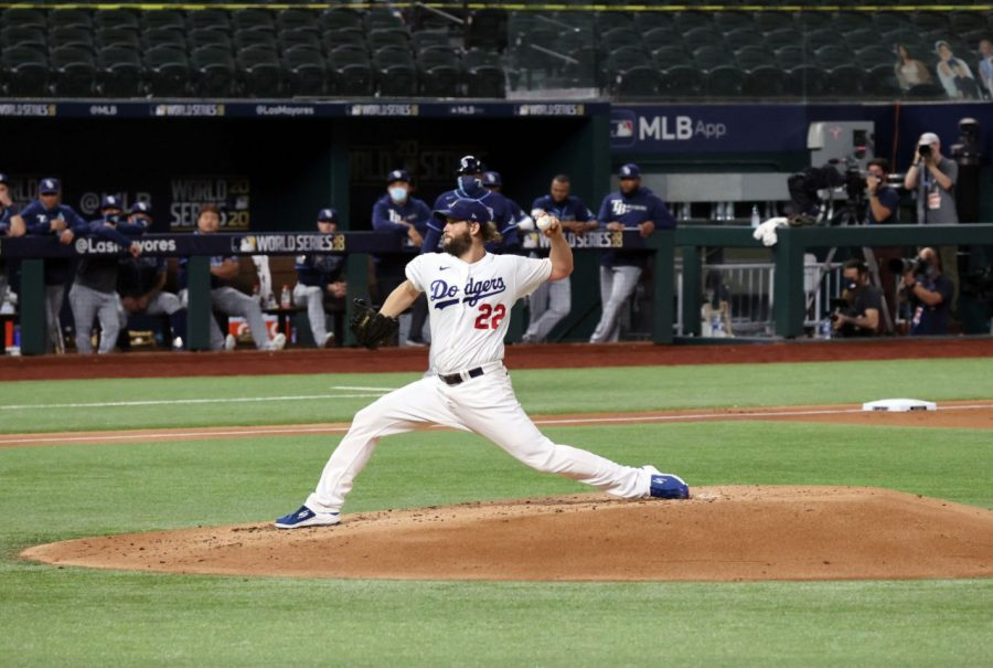 Clayton Kershaw (above) has been one of the stars of the MLB Postseason. (Courtesy of Twitter)