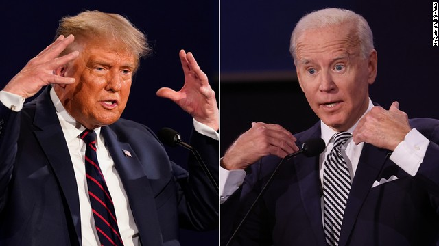 Both former Vice President Joe Biden and President Donald Trump were disrespectful during the first presidential debate for the upcoming election. (Courtesy of Twitter)