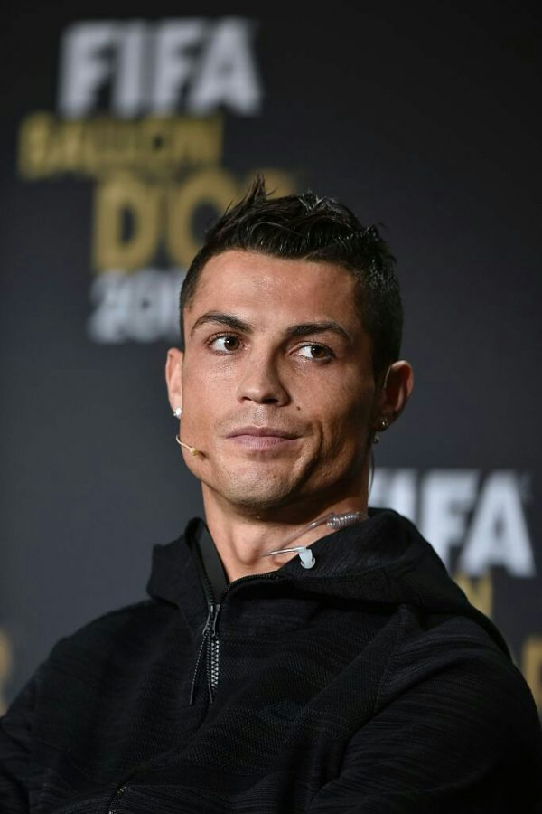 Barcelona has a date with Juventus in the UEFA Champions League, but Juventus will be without Cristiano Ronaldo (above), who has recently tested positive for COVID-19. (Courtesy of Twitter)