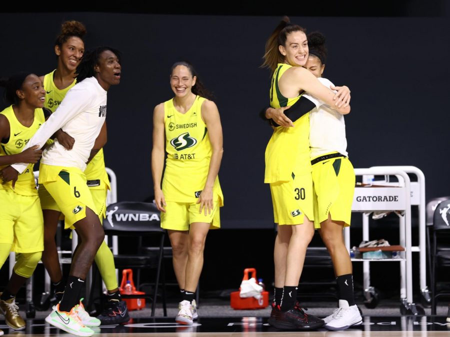 While Seattle celebrates their fourth title in team history, the WNBA will revel in television viewership growth this season. (Courtesy of Twitter)