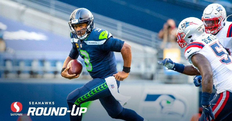Russell Wilson (above) could finally get his long-lost MVP award this season. (Courtesy of Twitter)