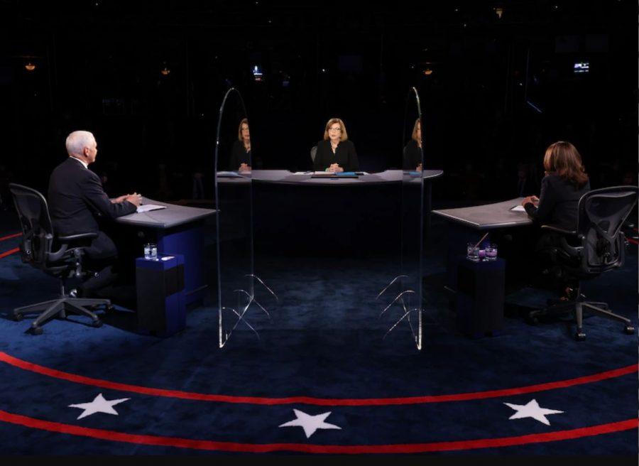 Susan Page, the Washington bureau chief for USA Today and the moderator of the debate, began the event by reminding candidates to maintain decorum (Courtesy of the Washington Post).