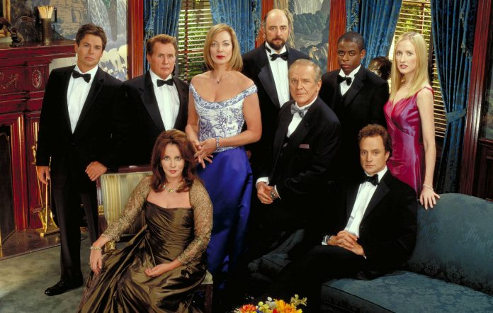 """""""West Wing"""" returned for a renuion special on HBO.  (Courtesy of Facebook)"""