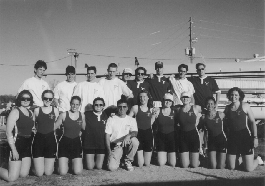 Bonanno has worked with both mens and womens rowing teams throughout his coaching tenure. (Courtesy of Fordham Athletics)