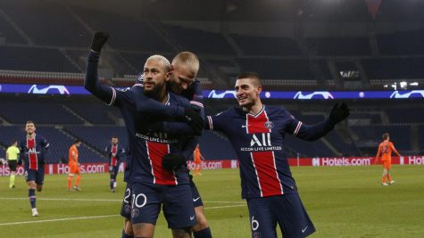 PSG overcame a setback to win the group and set up an exciting match with Barcelona in the round of 16. (Courtesy of Twitter)