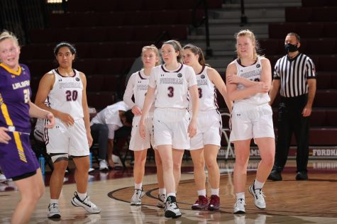 Fordham gets a boost against Albany as they move into Atlantic-10 action. (Courtesy of Fordham Athletics)