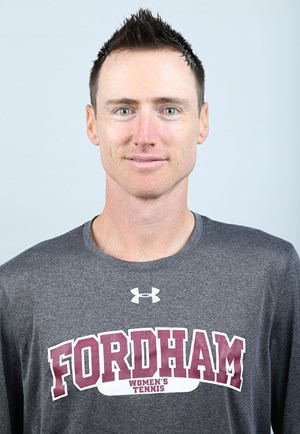 Interim head coach Peter Banas (above) is looking to led the Rams to A-10 success with the truncated roster and difficult circumstances provided to him. (courtesy of Fordham Athletics)