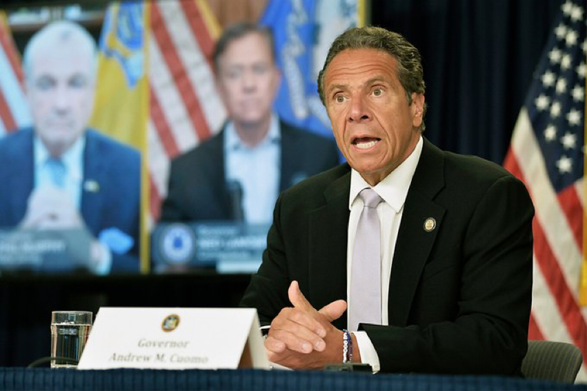 Gov. Cuomo received backlash after misreporting deaths in New York City nursing homes. (Courtesy of Twitter)