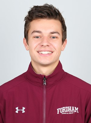Kevin Dineen is in his final season with the track team. (Courtesy of Fordham Athletics)
