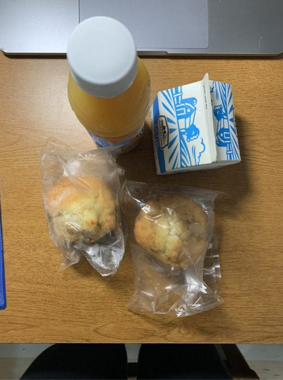 The university provides meals to students quarantining in on-campus housing. (Courtesy of Jacob Bartz)