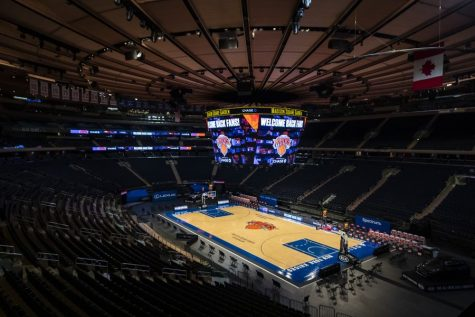 In the coming weeks, fans will be allowed again in many stands across the Tristate Area, with nowhere better to begin than Madison Square Garden. (Courtesy of Twitter)