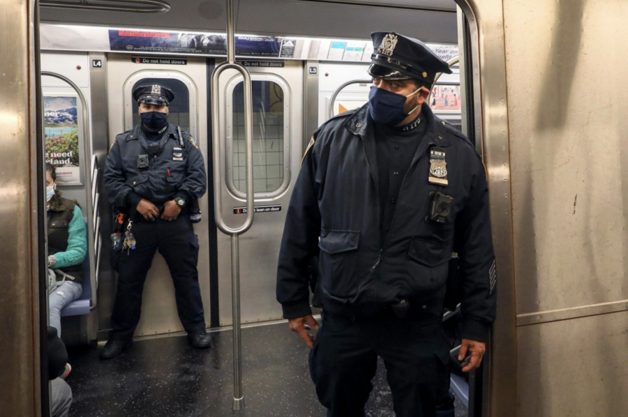 In recent months, New York has seen a startling rise in violent crimes committed on the subway. (Courtesy of Twitter)