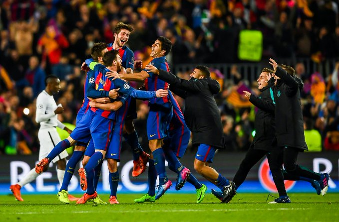 The Champions League is expected to resume in the coming week, and Barcelona is expected to impress. (Courtesy of Twitter)
