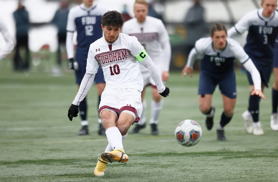 Fathazada's (above) penalty score against Fairleigh Dickson sparked the bright start the Rams will look to carry past the current pause. (Courtesy of Fordham Athletics)