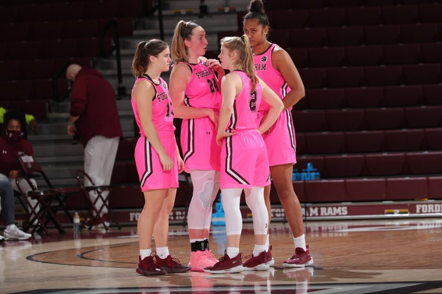 Women's Basketball is hoping for the chance to finish its season leading into the Atlantic-10 Tournament. (Courtesy of Fordham Athletics)