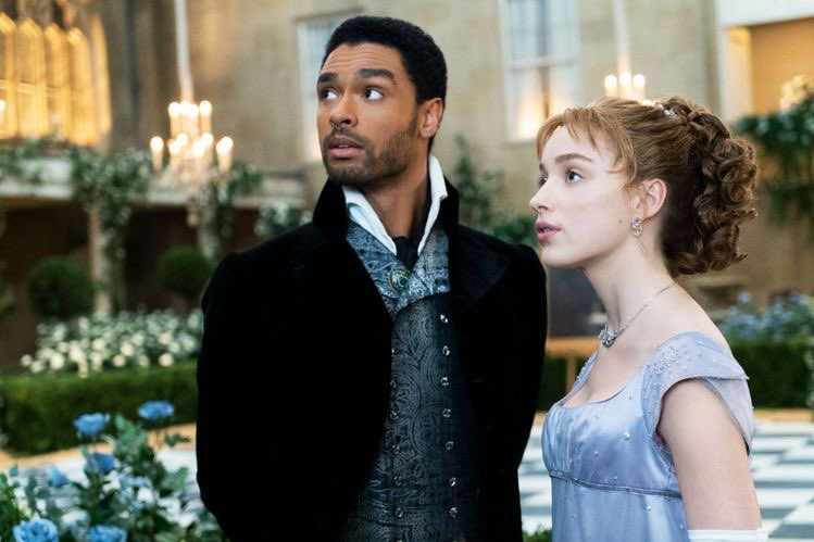 """Netflix's fantasy period drama """"Bridgerton"""" provides viewers with an escape from reality. (Courtesy of Twitter)"""