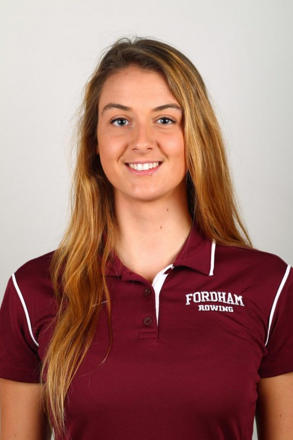 Fiona Murtagh has a history of rowing success at both Fordham and the international stage that she is looking to continue. (Courtesy of Fordham Athletics).