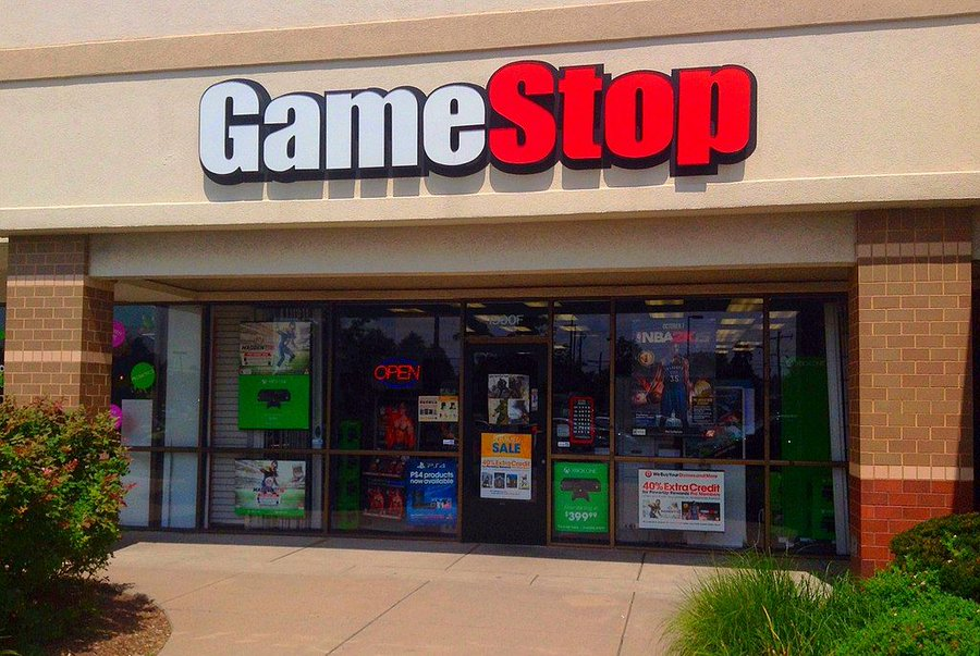 GameStop's stock value soars in January as Reddit users scramble to invest. (Courtesy of Twitter)