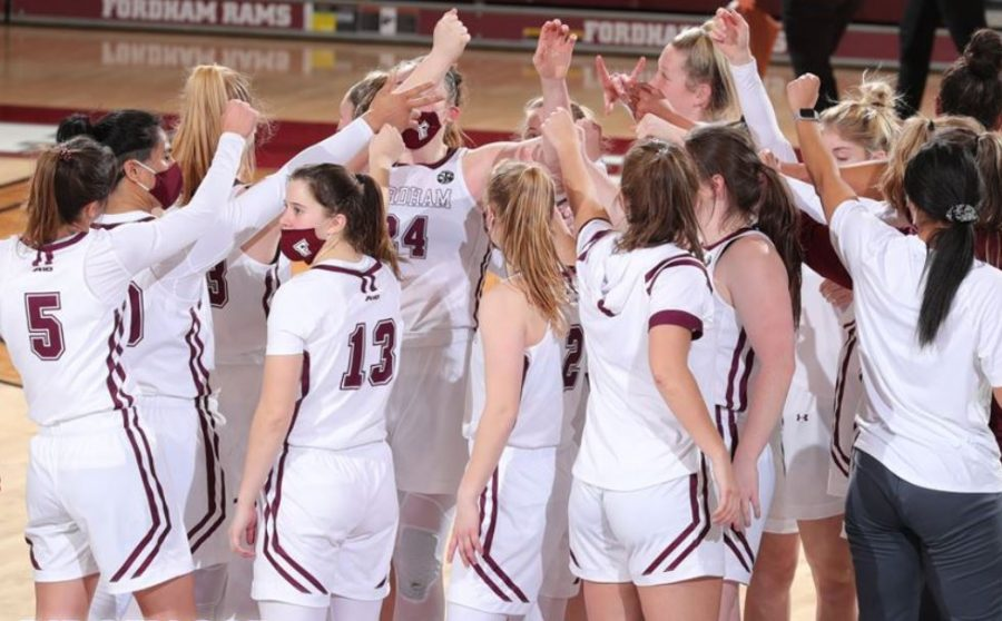 Stephanie Gaitley earned her 200th Fordham victory in the win against Rhode Island. (Courtesy of Fordham Athletics)