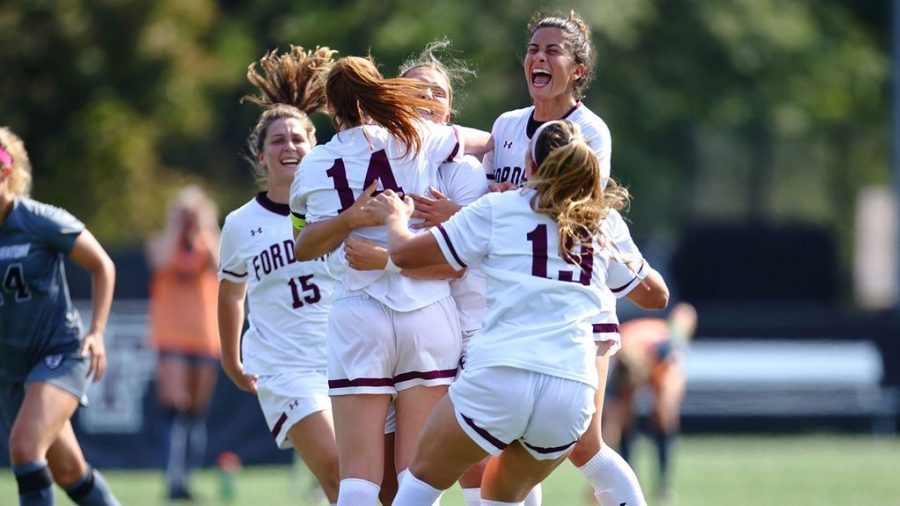 Womens Soccer will look to use the home field to their advantage this season. (Courtesy of Fordham Athletics)