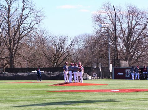 Fordham saw key contributions from its offense against the Highlanders, including four players picking up four or more hits. (Mackenzie Cranna/The Fordham Ram)