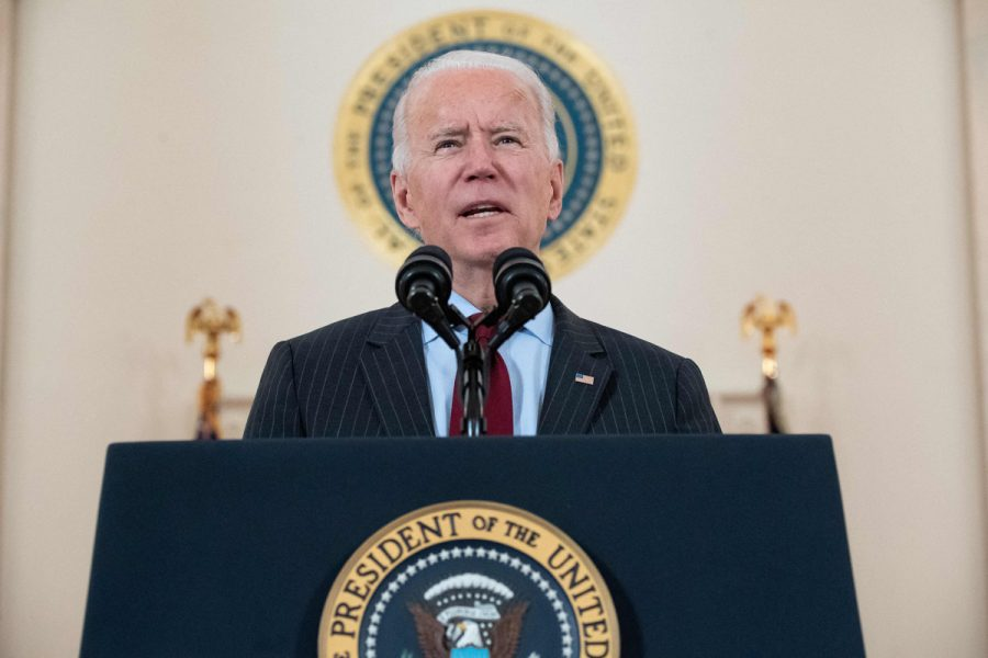 President Biden's primetime address was the shot of optimism the nation needed following one of the bleakest winters in American history. (Courtesy of Twitter)