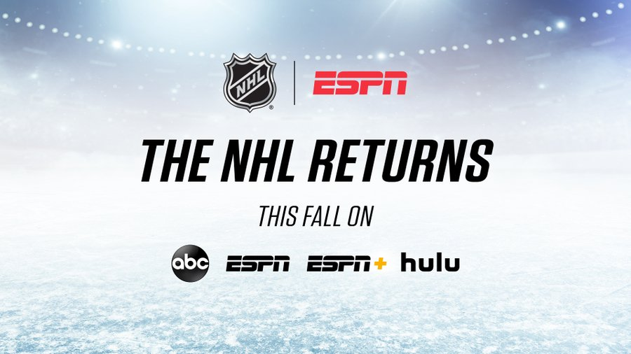 Streaming services will play a key part in the NHL's ESPN presence. (Courtesy of Twitter)