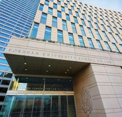 Fordham Law School has seen an increase in the number of applications it typically receives each year. (Courtesy of Instagram)