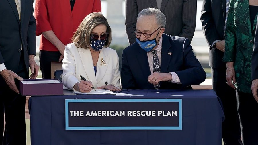 The stimulus package, also known as the American Rescue Plan, that passed in the House on Mar. 10, 2021 grants millions of Americans relief as they recover from the economic repercussions of the pandemic. (Courtesy of Twitter)