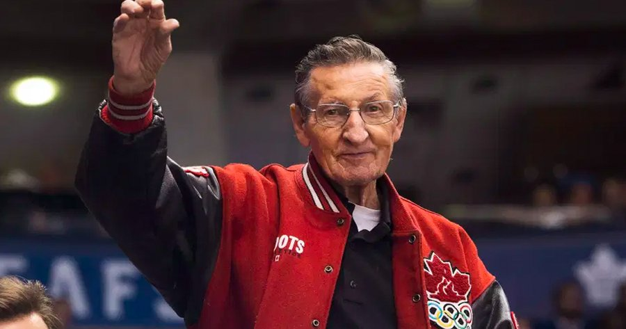 Walter Gretzky (above) made a significant impact on the NHL despite never having put on professional skates himself. (Courtesy of Twitter)