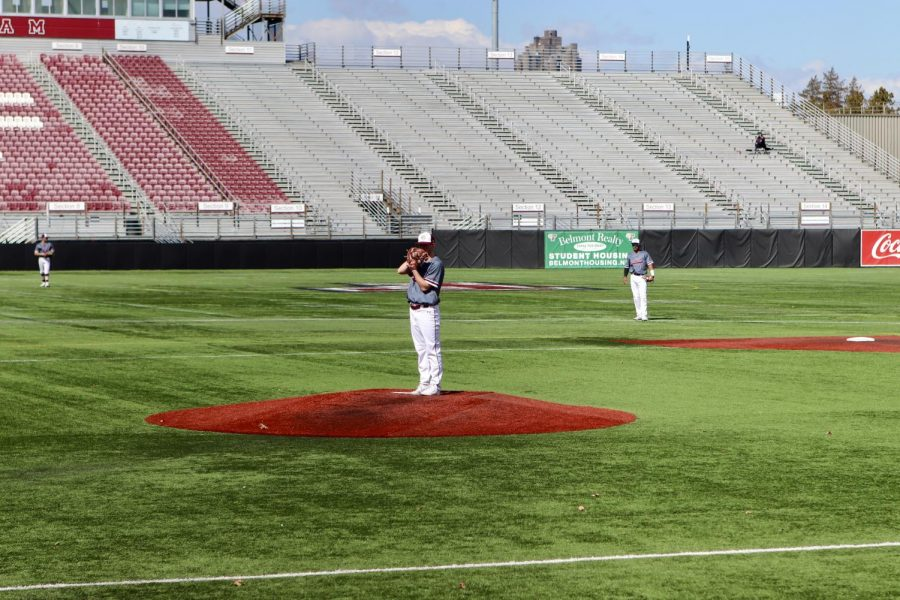 Over the weekend, Baseball took things the distance multiple times again as part of a four-game split against St John's. (Mackenzie Cranna/The Fordham Ram)