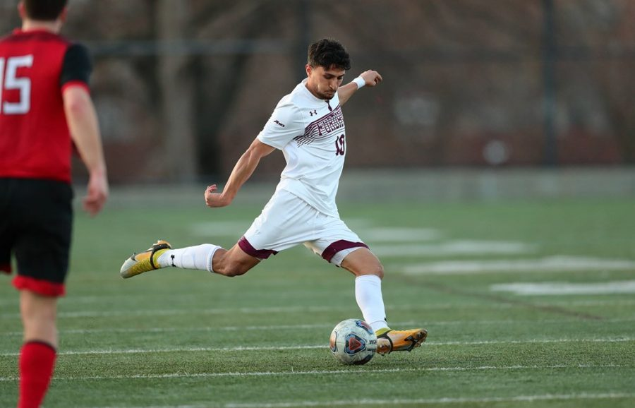 Fathazada's (above) goal again made the difference in the outcome for the Rams. (Courtesy of Fordham Athletics)
