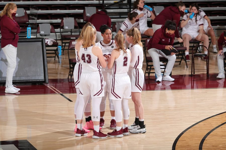 A game of uncharacteristic defensive lapses, turnovers and offensive inconsistency doomed the Rams against the Minutewomen. (Courtesy of Fordham Athletics)