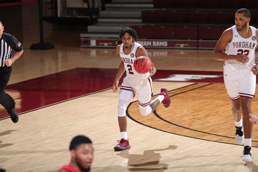 Jalen Cobb (above) reflects on the perseverance his team showed this season. (Courtesy of Fordham Athletics)