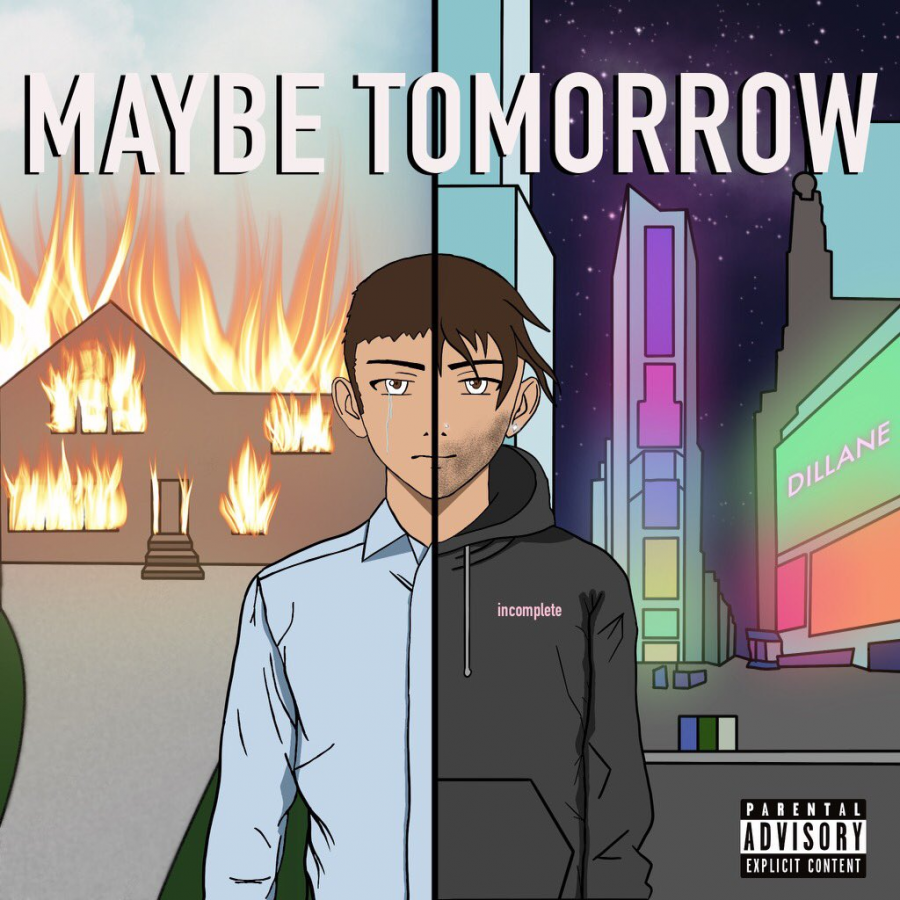 """Dillane Wehbe, GSB '22, speaks on finding happiness through the creation of his debut EP """"Maybe Tomorrow."""" (Courtesy of Twitter)"""